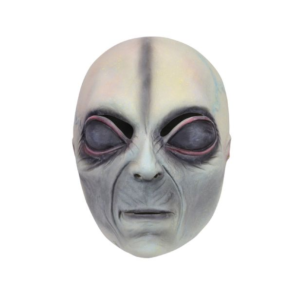 Alien Overhead Mask Fancy Dress Disguise